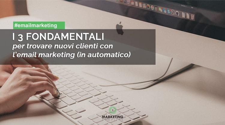 3 fondamentali email marketing