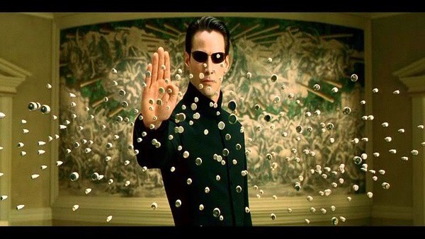 Neo in Matrix