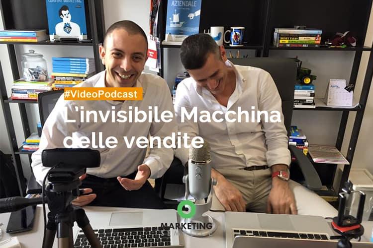 Invisibile macchina delle vendite