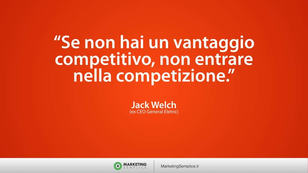 citazione marketing jack welch